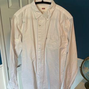 Levi's shirt, size M, white
